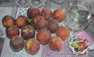 персики в сиропе на зиму без стерилизации половинками