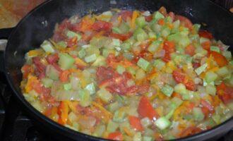 Рагу из кабачков без картошки на сковороде