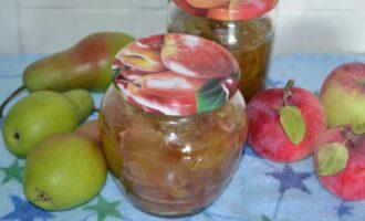 варенье из груш и яблок дольками на зиму