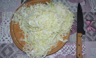 капуста быстрого приготовления с болгарским перцем