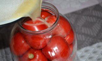 солёные помидоры с горчицей в 3 литровой банке